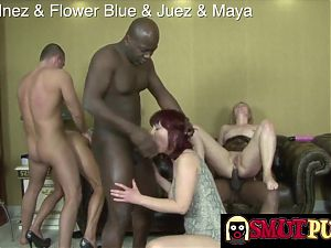 Smut Puppet - Interracial Orgy Compilation Part 3