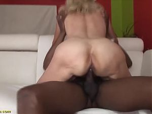 82 year old mom's first interracial
