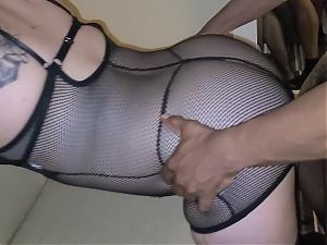 Latina wife deanna first BBC in pussy